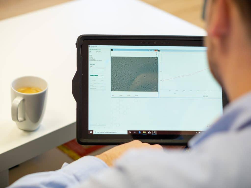 zenCELL User Tablet